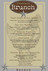 Brunch menu pg 1